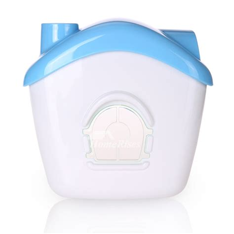 drill plastic toilet paper holder house shaped