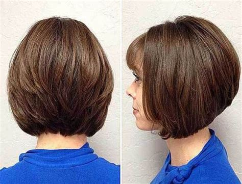 Fringed And Feathered Inverted Bob, Bob Haircuts For Fine