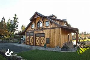 sandy or barn with living quarters 10 dc builders With barn homes oregon