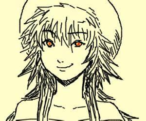 Nyancat style: Anime girl smirking - drawing by ...
