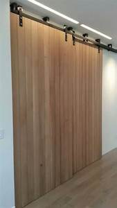 sliding interior walls wooden barn door style - Non
