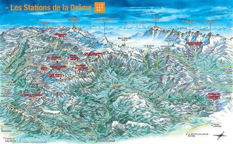 Carte Interactive Des Montagnes De by Carte Interactive Stations La Dr 244 Me Montagne Toutes