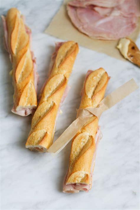 cuisine parisienne parisian jambon beurre sandwich recipe