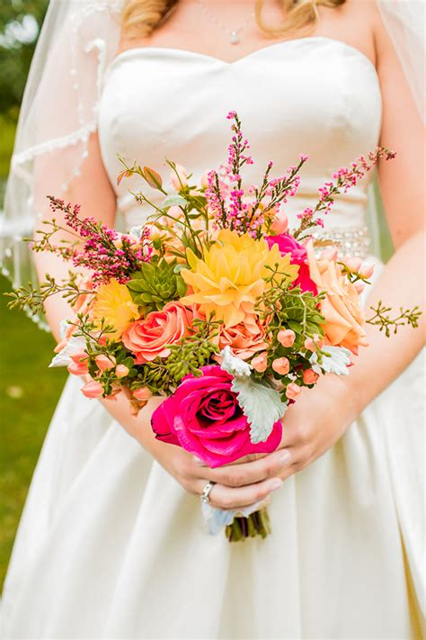 Colorful Rustic Handmade Wedding   Glamour & Grace