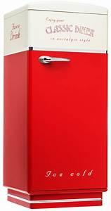 Kühlschrank Amerikanischer Stil : amerikanischer k hlschrank classic diner in rot beige ~ Sanjose-hotels-ca.com Haus und Dekorationen