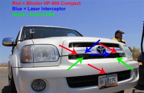 blinder hp  compact laser jammer test