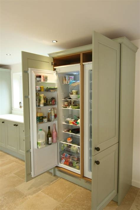 kitchen cabinets for built in appliances built in larder fridge search dining room