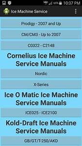 Ice Machine Service Manuals