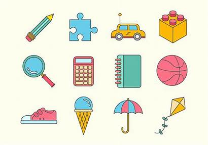 Stuff Vector Icons Graphics System
