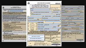 passport renewal With application for us passport name change