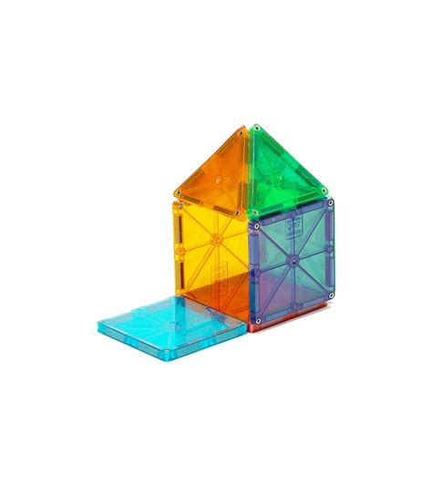 Magna Tiles Clear Colors 32 Set by Magna Tiles Clear Colors 32 Set