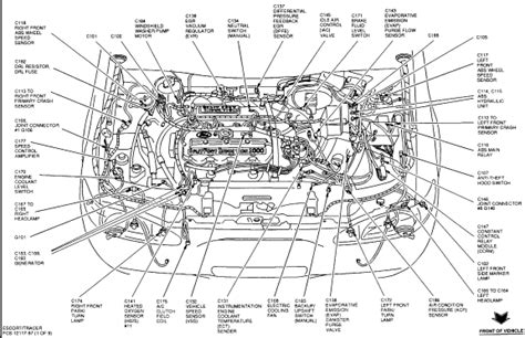 Ford Escort Questions Where The Evap Pressure Sensor