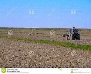 The Tilled Spring Field Stock Photo - Image: 17774670
