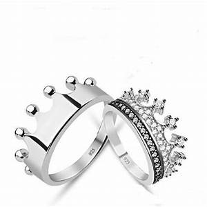 king queencrown ringcrown ring setgold crown ring With gold king and queen wedding rings
