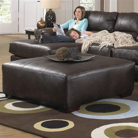 couch with large ottoman jackson furniture lawson extra large cocktail ottoman