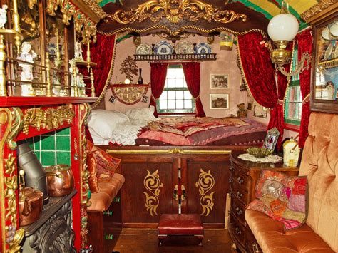 Interior Of A Horse Drawn Gypsy Wagon  Anguskirk Flickr