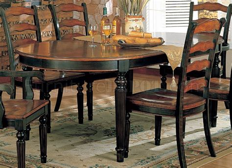 toned dining room furniture  choice    oval table