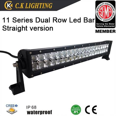 aluminum housing light bar 36 volt road led light bar