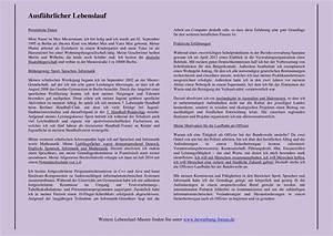 ausfuhrlicher handgeschriebener lebenslauf bewerbungsforum With handgeschriebener lebenslauf tabellarisch
