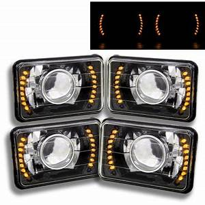 1977 Ford F150 Led Lights Oldsmobile Cutlass 1976 1977 Amber Led Black Chrome Sealed
