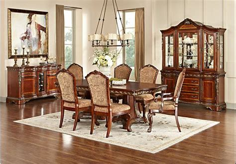 newcastle cherry  pc rectangle dining room misc