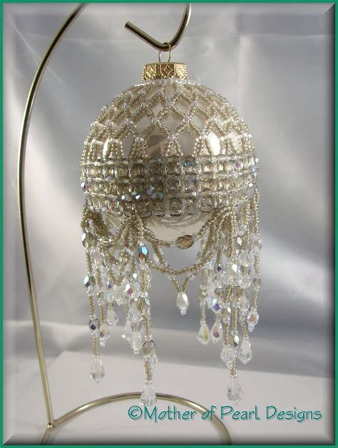 beaded victorian ornaments patterns designs