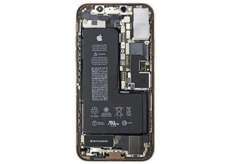 iphone xs teardown reveals l shaped battery lowyat net