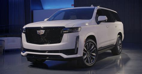 cadillac escalade ups  luxury  tech game roadshow