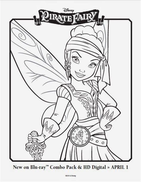 Free Disney Fairies printable coloring pages featuring