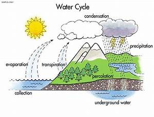 Simple Water Cycle Drawing At Getdrawings