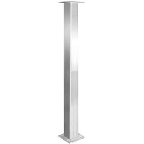 stainless steel countertop legs for custom tables bars or islands federal brace s