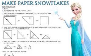 paper snowflakes free disney 39 s frozen printables