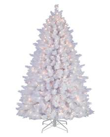 snow white artificial pine tree treetopia