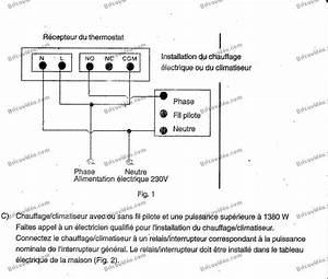 Thermostat D Ambiance Sans Fil Pour Chaudiere Gaz : thermostat programmable veismann trimatick installation ~ Premium-room.com Idées de Décoration