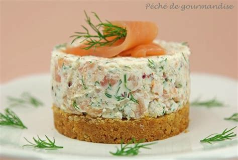 canapé au saumon fumé et mascarpone cheesecake saumon fumé recettes saumon