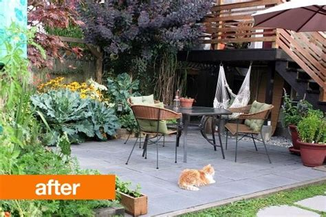 may days a small patio makeover 8 best images about before afters on gardens