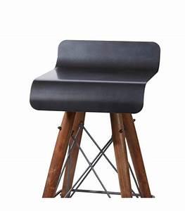 Tabouret De Bar Fer : tabouret de bar design en fer et bois kleen ~ Dallasstarsshop.com Idées de Décoration