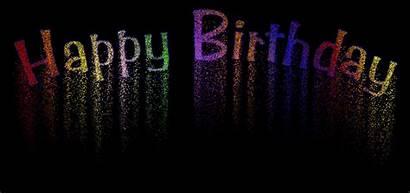 Birthday Happy Text Animated Simple Written