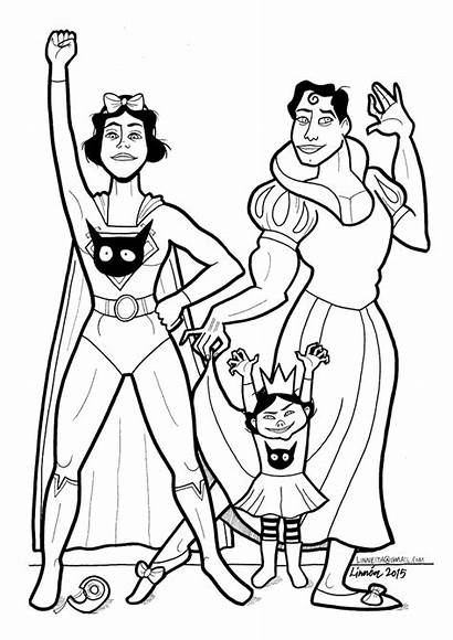 Coloring Pages Mom Boys Soft Super Books