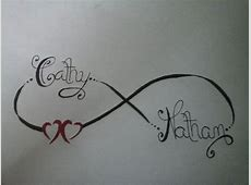 Tatouage Battement De Coeur Avec Initial Tattoo Art