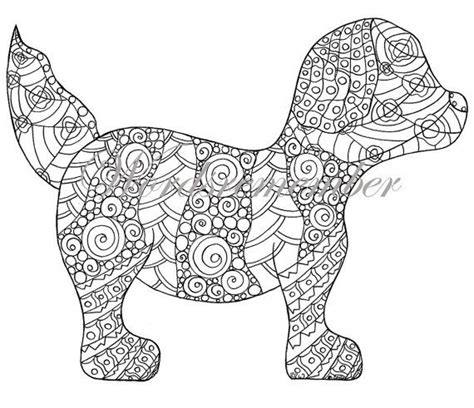 adult coloring page puppy coloring page colouring page