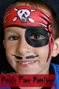 Halloween Face Painting Pirate