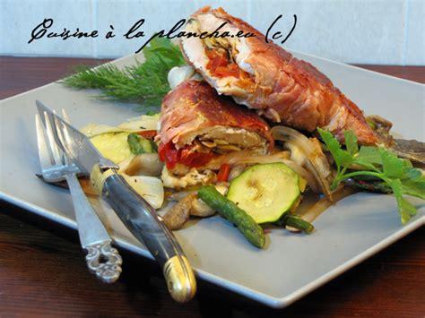 truite au jambon de bayonne et piquillos et amandes grill 233 es 224 la plancha la cuisine des basques