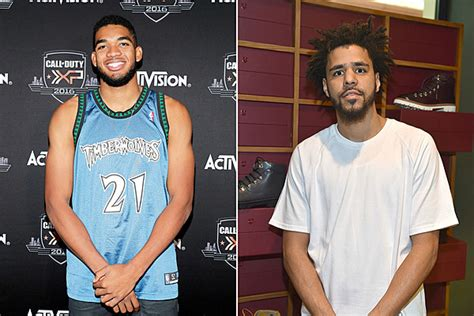 nba player karl anthony towns  loves  coles