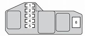 Toyota Hilux  2014  - Fuse Box Diagram