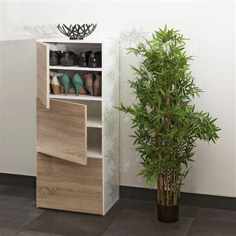 facades cuisine symbiosis meuble à chaussures 12 paires chêne blanc