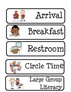 1000 images about preschool visual cue cards on 814 | f2bae910c67961e9aa41aa64eccfe30a