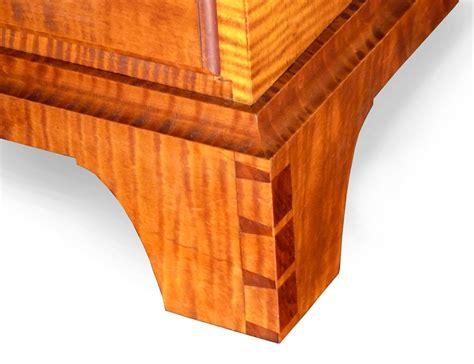 shaker dresser tiger maple finewoodworking