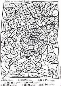 coloriage 233 ducatifs ce1 ce2 cm1 cm2 fran 231 ais et math 233 matique