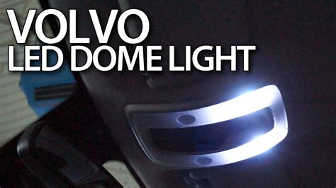 volvo interior dome light led conversion c30 s40 v50 s60